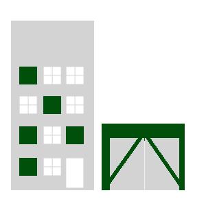 Häuser- und Zeltplatzsammlung
